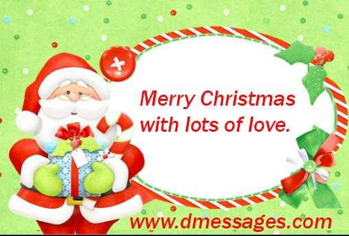 christmas card messages for child