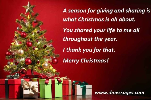 Christmas wishes for Friends.