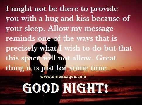 Good Night Message to my Sweetheart