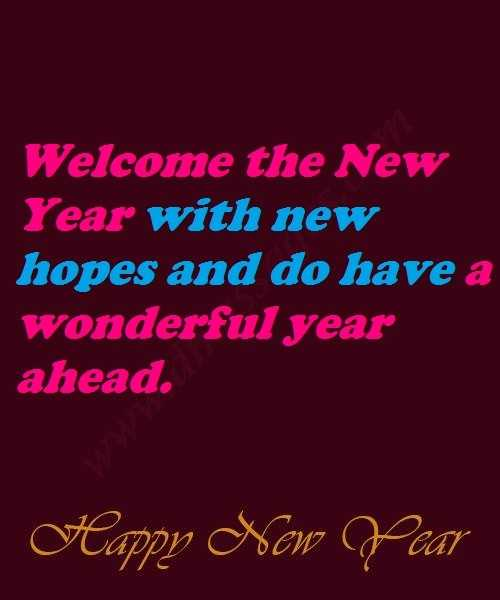 Happy new year wishes for teacher