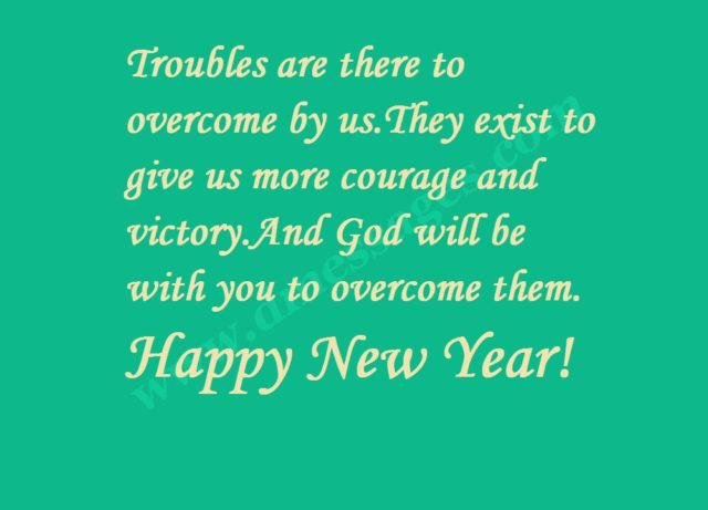 New year emotional messages