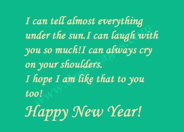 New year eve messages greetings