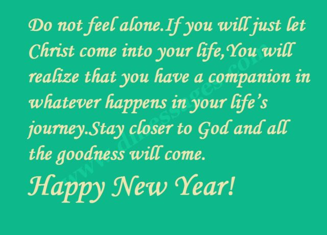 New year messages and greetings