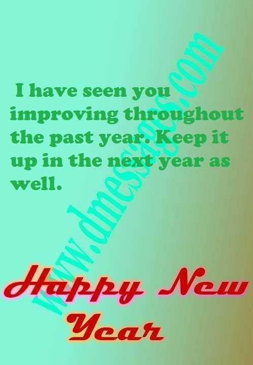 Happy new year creative sms