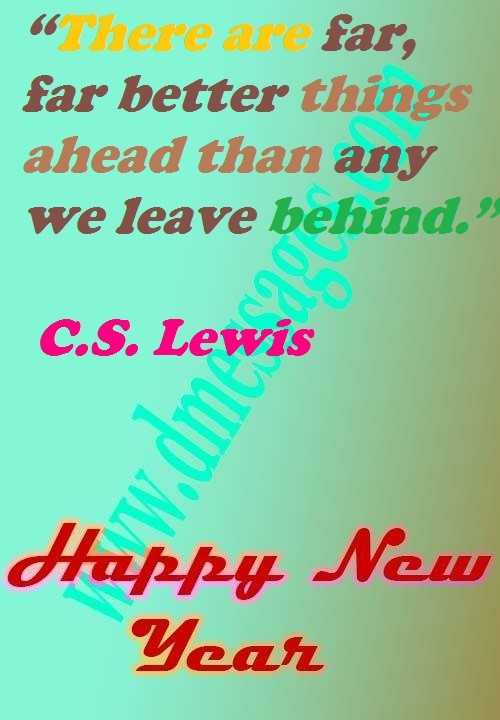 New year quotes and messages