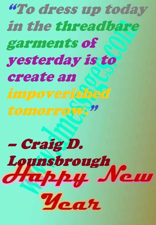 New year quotes dp