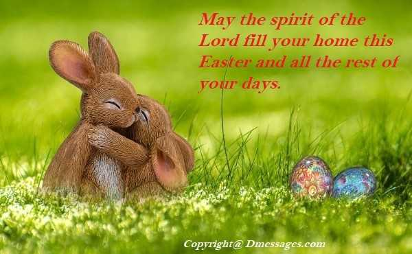 Easter greeting messages