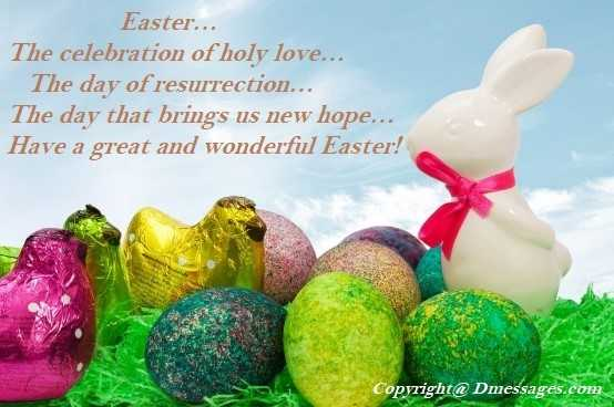 Easter messages for facebook