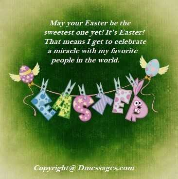 Free easter messages