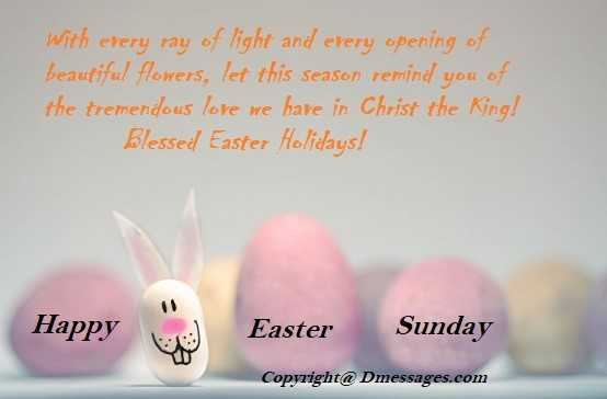 Good easter messages