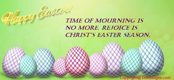 Happy easter christian messages