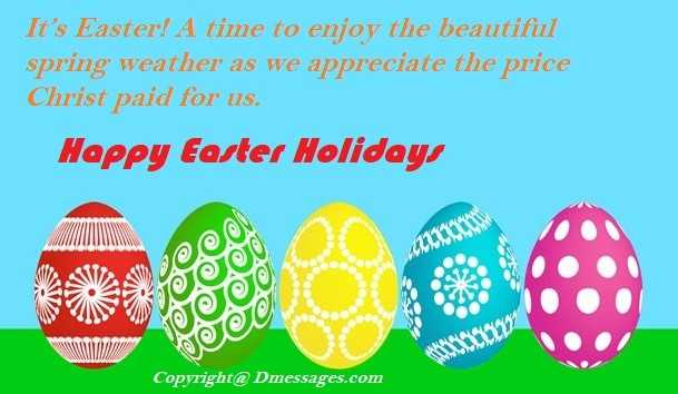 Happy easter messages cards