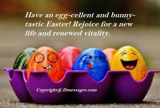 Happy easter religious messages