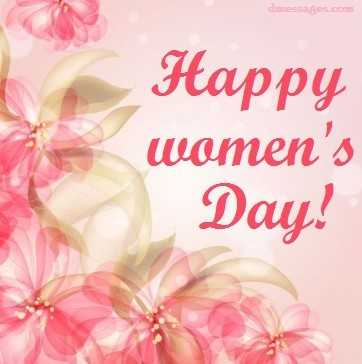 8 march international women's day wishes