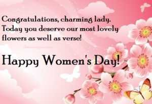 best wishes for international women's day