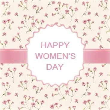 international women's day greeting cards