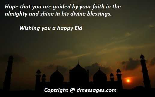 Happy Eid mubarak sms in english - Eid mubarak sms in english