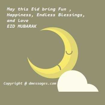 Happy Eid text sms messages