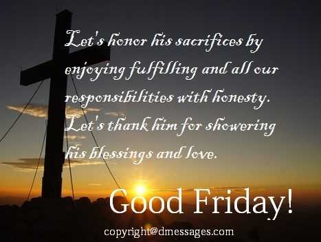 advance good friday wishes