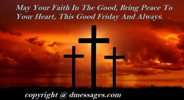 easter & good friday greetings
