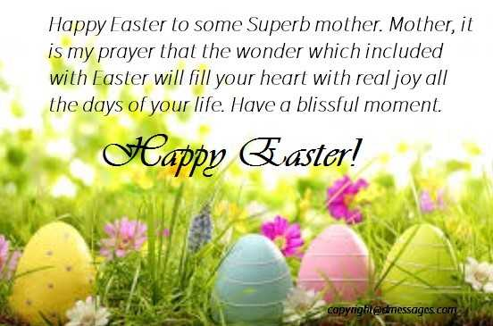 easter sms wishes
