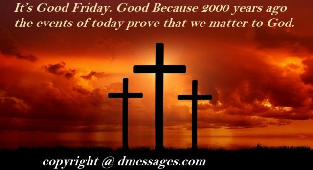 good friday greetings quotes