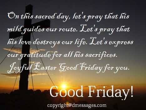 good friday wishes for boss