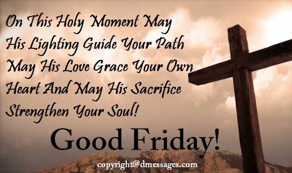 good friday wishes for family