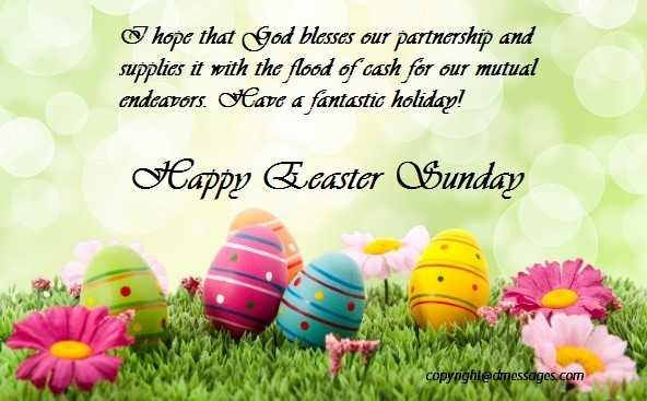 happy easter sms wishes
