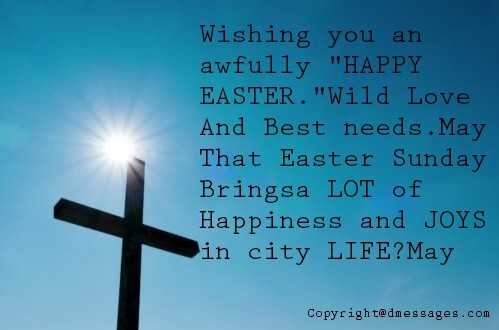happy easter to my family and friends quotes