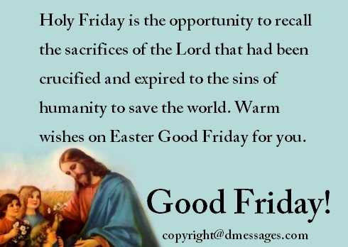 happy good friday wishes to friends