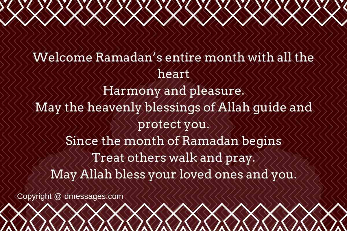 Happy ramadan kareem messages-Ramadan mubarak greetings messages