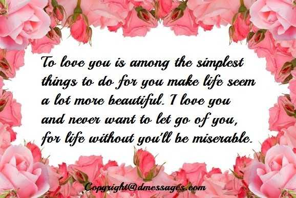 long love messages for your girlfriend