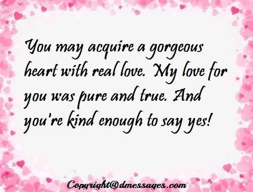 romantic love text for girlfriend